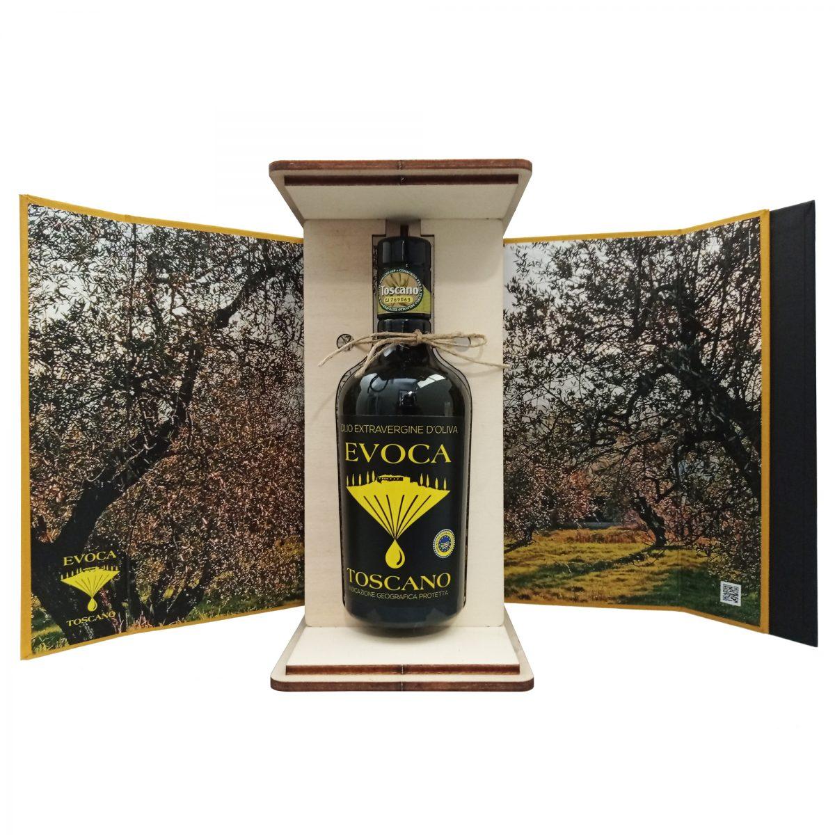 Confezione regalo Olio Evoca Toscano